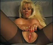 Mature MILF whore solo