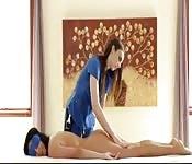 Massager lesbian