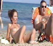Italin pornstar fuck on the beach