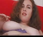 Super hairy Irish masturbation