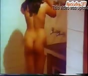 Sexy Mallu wife captured in the bathroom