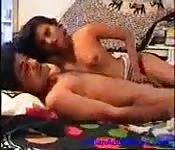 Gupta and girlfriend make sweet love at home