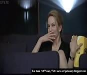 Popcorn sess with a celeb