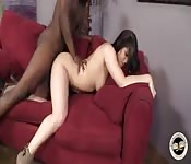 Edyn Blair's interracial creampie