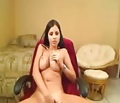 Curvy Brazilian teen bares all for you