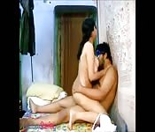 Homemade Indian couple