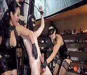 Merciless reverse cock torture scenes