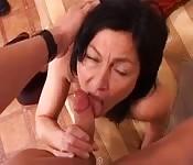 Italian sucking and fucking