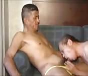 Hardcore fucking with mature Japanese men