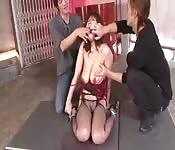 Kinky Japanese punishing