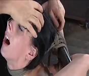 Lesbian BDSM punishing