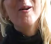 Blonde Mature Gets Pussy Pounding
