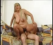 Check mature woman and young babe fucked