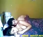 Indian teen couple home video