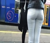 Hot Girl Picked At The Bus Station
