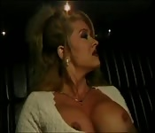 Mom fucked in taxi cab ride