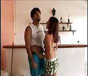 Anal housework with her boyfriend