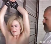Mature lady in BDSM