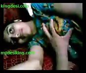 Amateur indian couple enjoys passionate sex