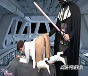 STAR WARS - Leia's best anal