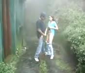 Couple like to fuck outside