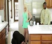She  made her husband watch while she cheatsk