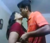 Mature Tamil bitch getting felt up