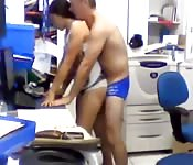 Indonesian office fling