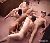An orgy full of hot dicks