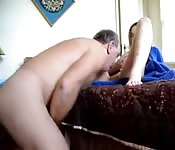 Dad fucked daughter in her bedroom