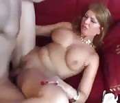 Mom never fucked a cock so sweet like this before