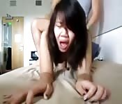 Singaporean babe doggystyle sex
