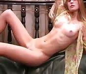 Model teases naked