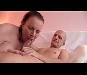 Mature lady throating