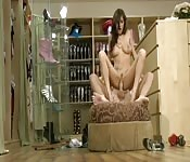 Shoe shop teen whore