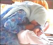 Malaysian momma blowjob