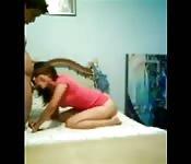 Mexican babe homemade porn