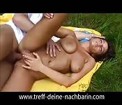 Ass banging teen picnic