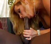 Ramon's giant cock does its job on a blonde woman