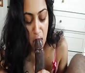 Mallu babe nice POV blowjob