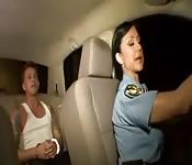 Police officer gets big cock