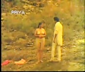 Semi nude chick in Indian movie