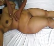 Pakistani babe pussy massage