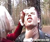 BDSM in the wood