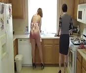 Latina kitchen bitch