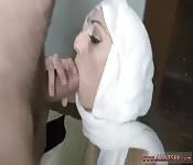 Arab woman getting nasty