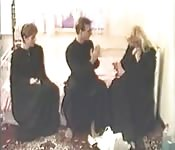 Two nuns and a hot threeway