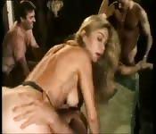Moana Pozzi's amazing orgy