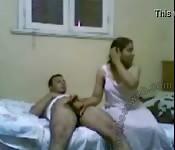 Arab Couple Home Video
