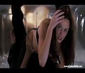 Celebrity sex scene